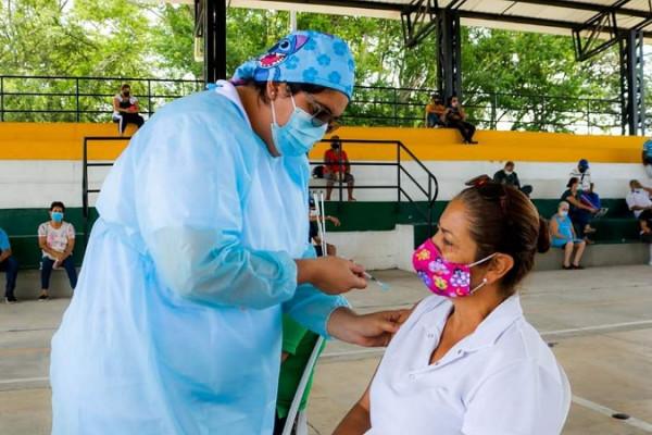 con este nuevo logro el pais supera el nivel de vacunacion proyectado en febrero