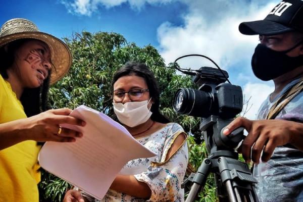 el primer laboratorio cinematografico que forma a jovenes wayuu en la guajira